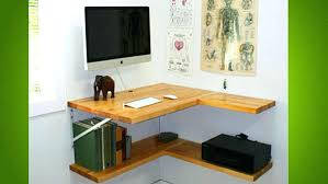 Diy Corner Desk Ideas Diy Corner Desk Wall Mounted Desks For Saving Space Floating