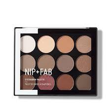 eyeshadow palette sculpted makeup nip fab