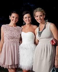 chagne wedding dresses amazing cake cutting dresses for your reception martha stewart
