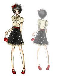 cartoon fashion models fashion models