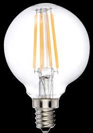 60 watt 120 volt light bulb ledone g16 5 clear lens filament bulb 4 watt optional base 120