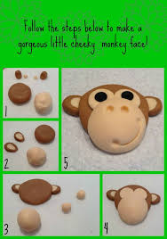 these jungle fondant cake toppers are adorbable and with the
