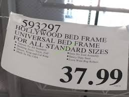 hollywood bed frame universal bed frame for all standard size