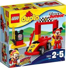 10843 lego duplo mickey racer
