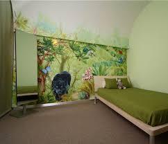 deco chambre enfant jungle idee decoration chambre bebe garcon 7 fresque murale chambre