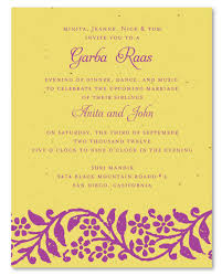 wedding invitations indian indian wedding invitations on plantable paper raas garba by