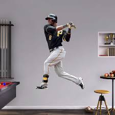 28 life size athlete wall stickers life size kevin love nba life size athlete wall stickers life size starling marte wall decal shop fathead 174 for
