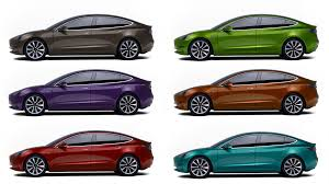 what u0027s your top pick for model 3 paint color ev network