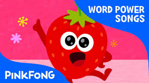 colorful fruits word power pinkfong songs for children youtube