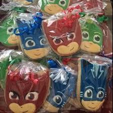 pjmasks birthday favors shopgirlcookies pj mask cookies