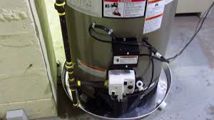 whirlpool gas water heater model nd50t122 403 review youtube