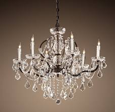 Glamorous Chandeliers Fabulous Iron And Crystal Chandelier Wrought Iron Crystal With