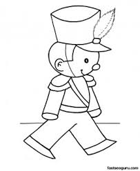 free christmas coloring pages toy soldier printable coloring