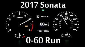 hyundai sonata 0 60 2017 hyundai sonata sport 2 4l 0 60 mph run