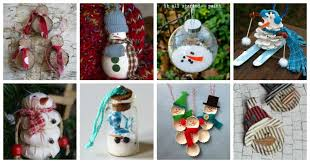 27 diy snowman ornaments for snowman ornament crafts