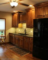 cambria blackwood archives village home stores the sink is at the center of your attention and the backsplash and lighting we mentioned earlier are what bring your attention there with no window above
