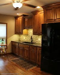 No Backsplash In Kitchen Black Appliances Archives Village Home Stores