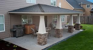patio u0026 pergola backyard pavilion awesome outdoor covered patio