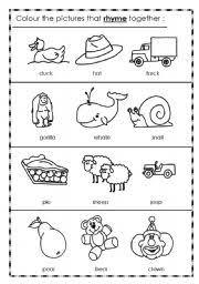 printable rhyming words rhyming words worksheet by 3mmm