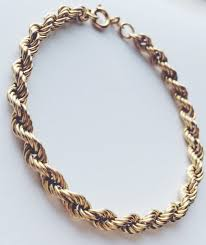 gold bracelet rope images 9ct yellow gold bracelet twist rope curb bracelet fully JPG