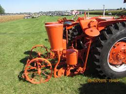 2 row corn planter on rear of allis chalmers d14 ac my pictures
