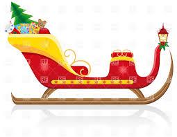 free clipart santa sleigh reindeer u2013 101 clip art