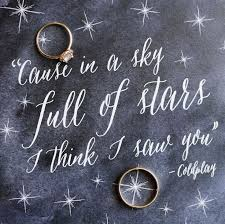 wedding quotes lyrics best 25 sky ideas on a sky coldplay lyrics and