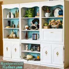 furniture home craigslist ivory bookshelf makeover restoration