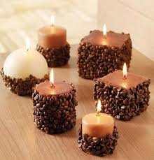 coffee bean candle 10 diy coffee beans crafts