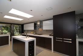 enzy living white u0026 wenge modern kitchen remodel