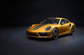 porsche 911 turbo production numbers the 2018 porsche 911 turbo s exclusive series build