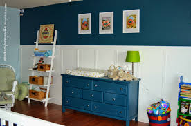 Blue Changing Table Loving Re Purposed Goodwill Dresser Nursery Changing Table