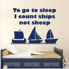 sleeping beauty wall decal promotion shop for promotional sleeping quote wall decals to go sleep i count stickers ships nautical nursery home