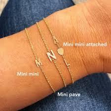 bracelet fine images Mini mini initial bracelet stephanie gottlieb fine jewelry jpg