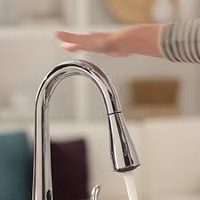 moen one touch kitchen faucet moen touchless kitchen faucet manual leandrocortese info