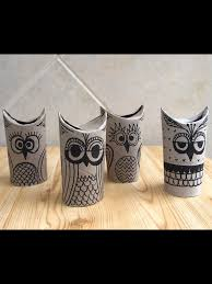 baykuşşş art u0026 craft pinterest toilet paper roll toilet