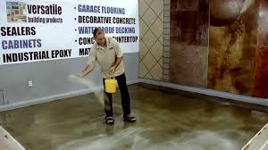 Industrial Concrete Floor Coatings Versa Crete Broom Finish Concrete Floor Coating Installation Video