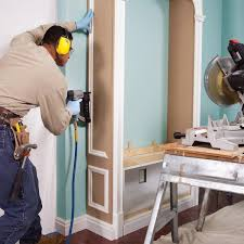 how to cope baseboard trim with a miter saw family handyman