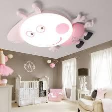 bedroom ceiling light peppa pig cat style room ceiling light led