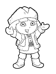 coloring pages dora and diego picture 27