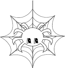 Cute Spider Coloring Pages Getcoloringpages Com Web Coloring Pages