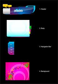 tutorial desain web pdf website layout design in corel draw