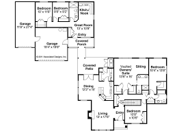 house plan with guest house house plans with detached guest separate in law inlaw apartment in