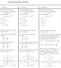 functions of two variables math100 revision exercises