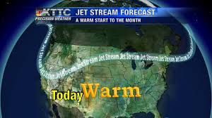 Jet Stream Forecast Map Mild To Start November But Cooler Days Aren U0027t Far Off Kttc