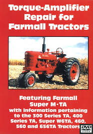 farmall torque amplifier repair video dvd case ih parts case