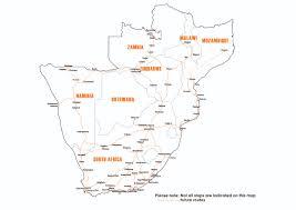 Bus Route Map Intercape Bus Bookings