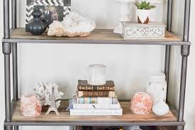 Hipster Home Decor by Apartment Refresh Bookshelf Styling