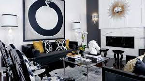 Black And White Armchairs 20 Attractive Black Sofa Living Room Home Design Lover