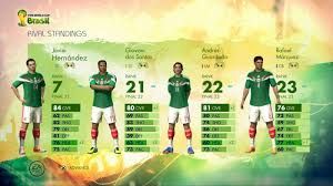 2014 fifa world cup brazil will captain your country mode based on